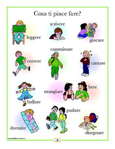 French Activities Poster