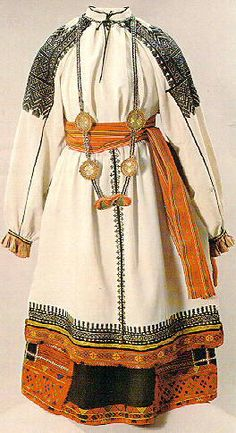 Russian folk dress - Explore the World with Travel Nerd Nici, one Country at a Time. http://TravelNerdNici.com