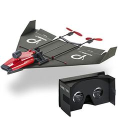 PowerUp have developed a FPV (First Person View) system  to watch your paper airplane fly around the room... and even have controls! Not like the old days when the flight path was up to the wind or a nudge from yourself, Now using your smartphone and a Google Cardboard Viewer