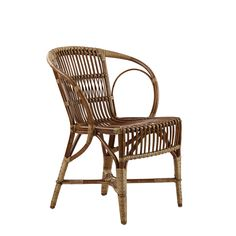 Wengler Wicker Chairs: This iconic chair was designed by R Wengler, the pioneer of wicker craftsmanship, in 1902. This timeless chair is exclusively available from Sika Design in three versatile finishes; natural, antique and black. H 81cm (Seat H 46cm) x W 62cm x D 61cm