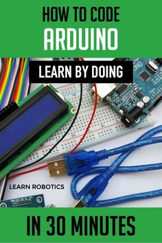 Learn how to program Arduino with this step-by-step example. Want to learn how to write an Arduino Program? Write an Arduino program for any robot using the simple steps outlined in this article. Learn Computer Coding, Basic Computer Programming, Arduino Programming, Computer Technology, Business Technology, Gaming Computer, Arduino Books, Diy Arduino, Arduino Beginner