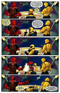 Deadpool on Starwars