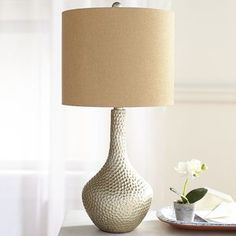 Tan Honeycomb Table Lamp | Pier 1 Imports