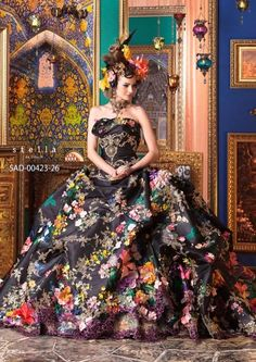 These Fantastical Stella De Libero Creations are from a 2014/15 wedding dress collection. Stunning wedding fashion that modernises the traditional gown.
