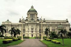In honour of the late King Bhumibol Adulyadej Ananta Samakhom Throne Hall, Mario Tamagno & Annibale Rigotti, Bangkok, 1915