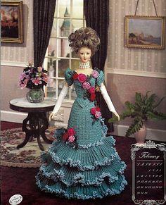 February Annies Calendar Bed Doll Society Fashion Doll Crochet Pattern Annies Attic.
