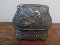 Vintage Japanese Silver Plated Ring Box by SweetDreamsandRoses, $21.99