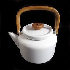 Wasserkessel Heikki Orvola Finel Finnland Mid Century Kettles, Pots, Enamel, Mid Century, Dishes, Nice, Vintage, Design, Home