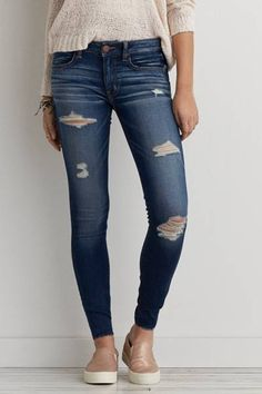 Jegging  by AEO | Our sexiest, skinniest fit. Looks like a jean, feels like a jegging.  Shop the Jegging  and check out more at AE.com.
