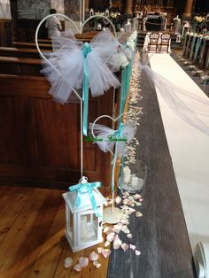 cuori, lanterne e petali