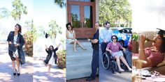 Girlfriend broke her foot 10 minutes in to her graduation photo shoot