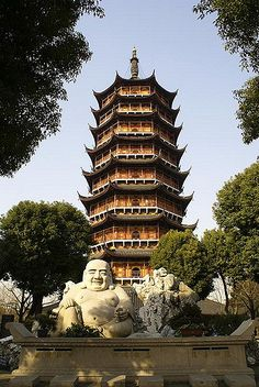 Porcelain Tower of Nanjing - Seven Wonders of the Medieval Ages..!!