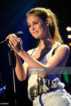 Concert of German singer Lena Meyer-Landrut at the Reeperbahn Festival 2012 in Hamburg