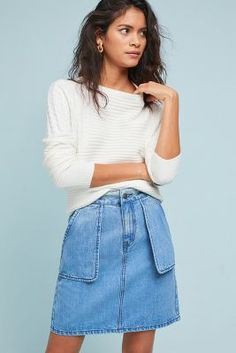 Shop the Slim Boyfriend Denim Skirt and more Anthropologie at Anthropologie today. Read customer reviews, discover product details and more.