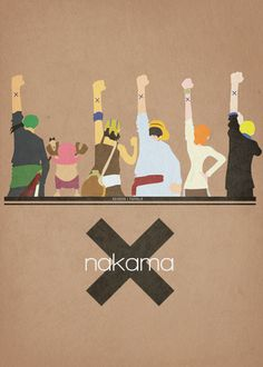 Nakama - faceless one piece - Faceless poster