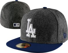 Los Angeles Dodgers Grey Wool New Era Melton Basic Fitted Hat Dodgers Outfit, Dodgers Gear, Dodgers Jerseys, Champion Gear, Dodger Hats, New Era Fitted, New Era Hats, Baseball Caps, Chicano