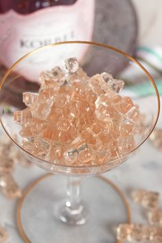 Easy to make with just three ingredients, Pink Champagne Gummy Bears are the BEST way to celebrate any occasion. Simple to make and fun to eat! Alcohol Gummy Bears, Drunken Gummy Bears, Best Gummy Bears, Gummi Bears, Champagne Birthday, Champagne Party, Pink Champagne Cupcakes, Champagne Recipe, Champagne Gummy Bears