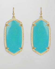 completely and totally obsessed with these new smaller alternatives, Kendra Scott Elle earrings, the perfect size!  $52.00