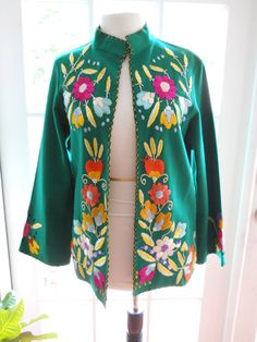 Vintage Mexican wool jacket