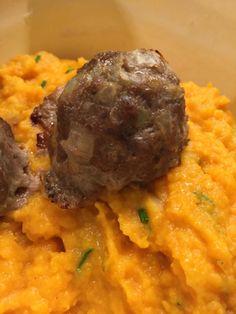 Mehevät lihapullat ilman korppujauhoja - Resepti | Kotikokki.net Risotto, Nom Nom, Ethnic Recipes, Foodies