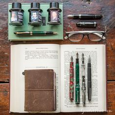Fountain pen fans love writing and reading! Take a look at our Bibliophile collection, ideal for curling up and spending some time with a good notebook. Pin for later.