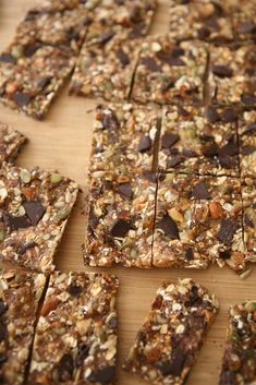 high protein breakfast/post workout sweet and salty bars
