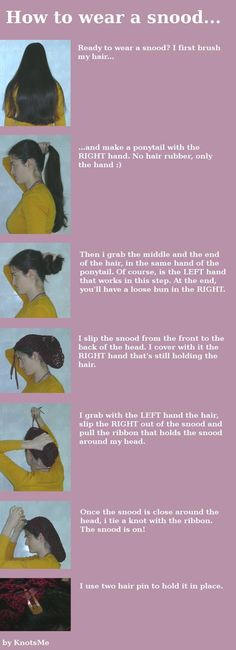 How to wear a snood by ~knotsme