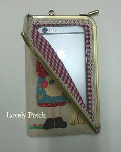 Lovely Patch: Funda de boquilla para el móvil