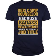 Awesome Tee For Kids Camp Counselor T-Shirts, Hoodies. Check Price Now ==►…