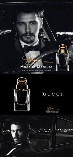 James Franco's Gucci 'Made To Measure' Cologne Debut - http://www.becauseiamfabulous.com/2013/07/james-franco-gucci/