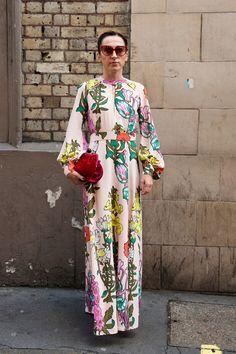 Best London Fashion Week Street Style Spring/Summer 2016   POPSUGAR Fashion UK