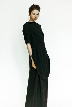 Ana October black dress  #minimalist #fashion #style