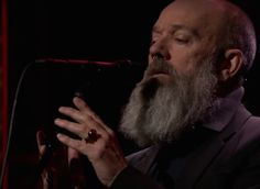 """Watch Michael Stipe Sing David Bowie's """"The Man Who Sold The World"""" On <em>The Tonight Show</em>"""
