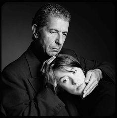 Leonard Cohen (r.i.p) and Suzanne Vega - 1989
