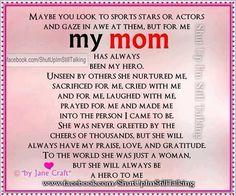 my idol essay motherhood