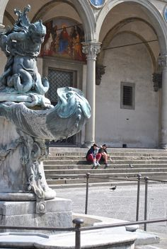 Piazza Santissima Annunziata,  Florence  Italy