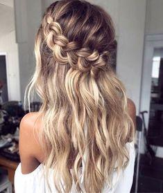 Half Up Crown Braid For Long Hair hair styles 60 Breezy Crown Braid Hairstyles for Summer Hairstyles Haircuts, Summer Hairstyles, Cool Hairstyles, Hairstyle Ideas, Hairstyles Pictures, Asian Hairstyles, Teenage Hairstyles, Hairstyle Tutorials, Beautiful Hairstyles
