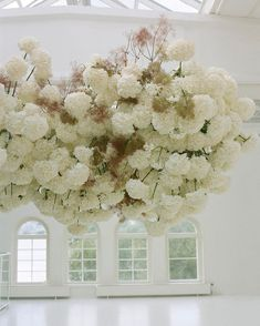 Cloud floral instillation by Sarah Winward