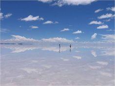 El espejo más grande del mundo (El Salar de Uyuni, Bolivia) | Rincón Abstracto. Gracias a @Emilio Gilly por la recomendación