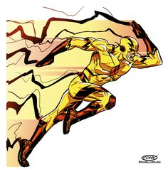 Fuck Yeah! Comics, thehappysorceress:   Reverse Flash by Scott Cohn