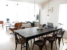 Open Space / Wooden Table