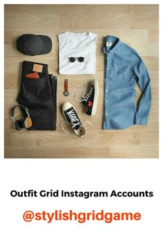 Best of the best outfit grid Insta accounts. Mens Fashion Blog, Latest Mens Fashion, Mens Fashion Suits, Men's Fashion, Stylish Mens Outfits, Cool Outfits, Outfit Grid, Grid Game, Mens Clothing Styles