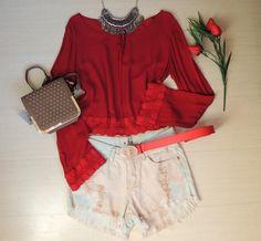 cropped-vermelho-renda-mangas-longas-soltinho-comprar