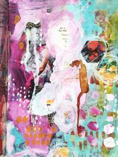From the Balzer Designs Blog: Art Journal Every Day: Guest Post: 15 Minutes of Mixed Media with Rae Missigman #ArtJournalEveryDay