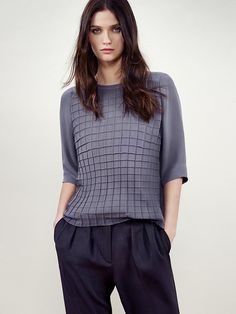 Mango January 2014 Lookbook | FashionMention