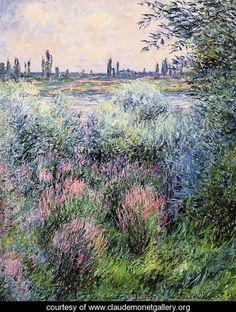 A Spot On The Banks Of The Seine - Claude Oscar Monet - www.claudemonetgallery.org