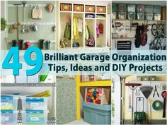 49 Brilliant Garage Organization Tips, Ideas And Diy Projects - Page 5 Of 5...