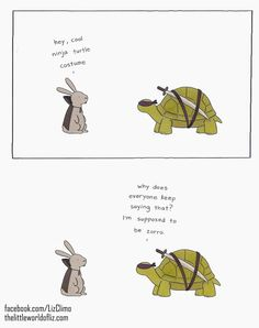 Post with 2927 votes and 185638 views. By Liz Climo. Cute Little Animals, Cute Funny Animals, Funny Cute, Hilarious, Funny Animal Comics, Funny Comics, Animal Antics, Animal Jokes, Funny Cartoons