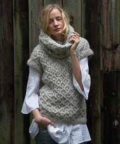 Amber sweater pattern by Lisa Richardson (knitting, turtleneck