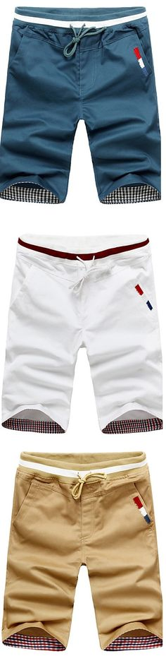 The perfect summer shorts! What's your preferred color? Budget Fashion, Cheap Fashion, Mens Fashion, Sport Casual, Men Casual, Short Outfits, Casual Outfits, Skinny Chinos, Sharp Dressed Man